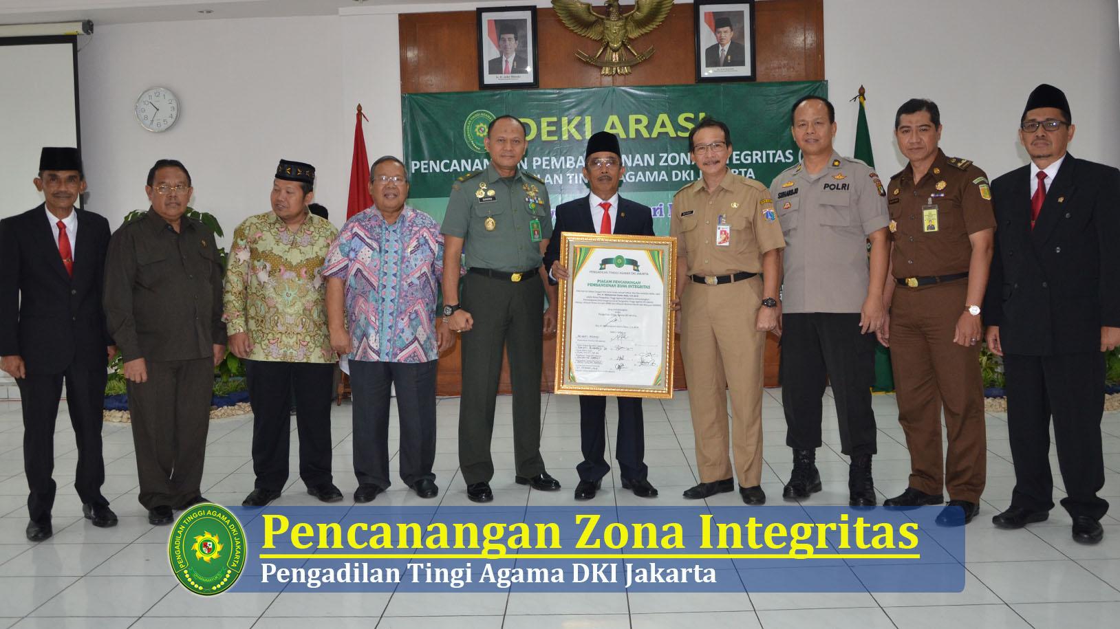 Pencanangan Zona Integritas